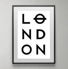 Home Decor London London Wall Art London Instant Download Scandinavian Poster