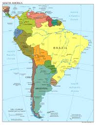 Blank Latin America Map by Maps Of The Americas Geography Rcis3t Learn Central And South