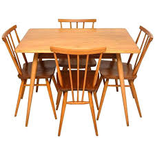 Ercol Dining Table And Chairs Ercol Dining Table And Chairs 4 X Vintage Retro S Dining Chairs