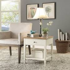 End Table Living Room Farmhouse Cottage Style End Tables And Side Tables Hayneedle