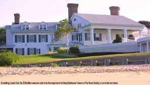 great gatsby long island bulldozers demolish long island mansion that was inspiration for f