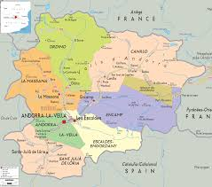Map Of Europe And Capitals by What Is And Where Is Andorra All Andorra
