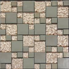 mosaic tile kitchen backsplash mosiac tile backsplash copper glass and porcelain square mosaic