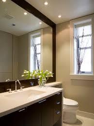 14 framing bathroom mirror diy glued on mirror makeover a