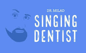 who is the singing dentist aka dr milad shadrooh what ed sheeran