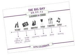day wedding timeline template eliolera com