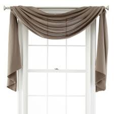 Window Scarves For Large Windows Inspiration 1000 Ideas About Window Scarf On Pinterest Sheer Curtain Panels