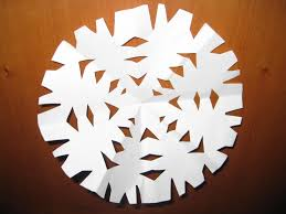 How To Make A Snowflakes Out Of Paper - winter easy craft skip to my lou parenting