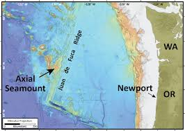 Mercator Map Definition Axial Seamount Expedition 2015 Detecting Deformation