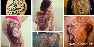 160 most courageous lion tattoos and their meanings 2017