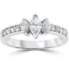marquise diamond engagement rings 7 stone marquise diamond anniversary ring