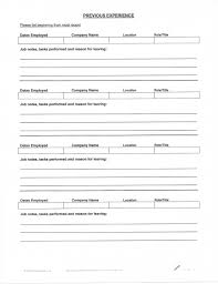 Blank Fill In Resume Templates How To Fill Out A Resume 21 Fill Out A Resumes How To Resume
