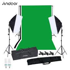 andoer full set of studio photographic kit sales online eu tomtop
