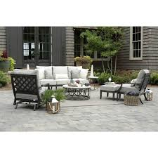 100 Wicker Patio Coffee Table - ella oval interlock ivory outdoor coffee table kathy kuo home