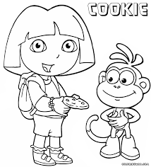 cookies coloring pages coloring pages to download and print