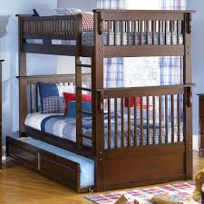 Solid Wood Bunk Beds With Trundle by Solid Wood Bunk Beds Twin Over Twin Home Beds Decoration