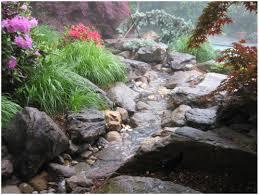 backyards winsome backyard pond stream waterfall 4 15 09 28