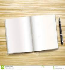 dessus de bureau masquez le livre ouvert au dessus du bureau en bois illustration de