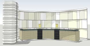 Reception Desk Cad Block Hotel Lobby Wall And Front Desk Sketchup 3d Cad Model Grabcad