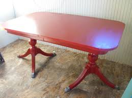 duncan phyfe redone heirloom red this table is gorgeous red