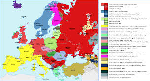 Indo European Language Map by Love