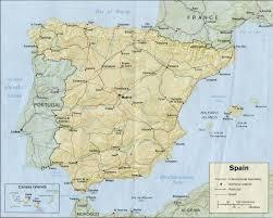 Alicante Spain Map by Spain Map Jpg
