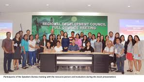 bicol rdc committee on advocacy trains speakers for the rdp and