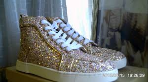 2015 christian louboutin glitter fashion shoes luxury designer