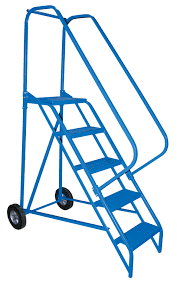 Fold Up Step Ladder by Portable Ladder Conveniently Folds For Storage Constructed Of