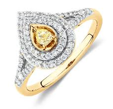 coloured diamonds rings images Discover our natural yellow diamond jewellery collection png