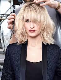 mod le coupe de cheveux femme coiffure frange destructuree modèle coupe de cheveux coiffure