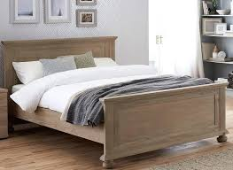 Oak Sleigh Bed High Bed Frame Bedroom Pine Bed Frame Bed Frame Oak