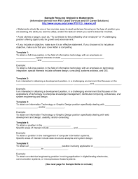 Example Resume Waitress Great Objectives For Resumes 21 A Resume Objective On Examples