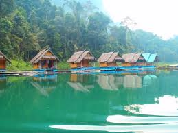the floating bungalows u2013 cheow lan lake khao sok thailand