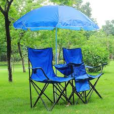 Ebay Garden Table And Chairs Folding Chair For 2 Person W Umbrella U0026 Carring Bag Beach