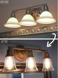 Bathroom Vanity Lighting By Shades Bathroom Lamp Shades - Mix match bathroom vanity light shades