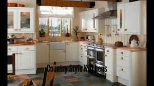 Pictures Of Country Kitchens With White Cabinets by Country Style Kitchens Country Kitchens Youtube