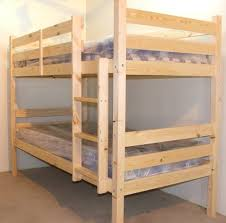 Easy And Strong 2x4 U0026 2x6 Bunk Bed 6 Steps With Pictures by Bunkbed 3ft Single Solid Pine Bunk Bed Heavy Duty Bunk Bed