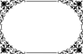 clipart decorative ornamental frame border 2