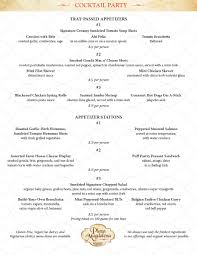 menus plaza magdalena sundried tomato american bistros u0026 catering