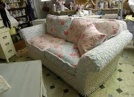 sofa shabby shabby chic sofa slipcovers home design ideas alley cat themes