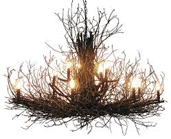 branch chandelier briarwood elite branch chandelier rustic chandeliers by wish
