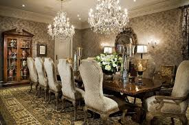 Dining Room Chandeliers Transitional Dining Room Chandeliers Transitional With Wallpaper Gold Shade