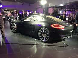 porsche cayman black porsche cayman 981 launch fast german cars