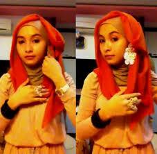 tutorial hijab paris ke pesta tutorial hijab paris yang bisa diterapkan ke pesta pernikahan 7