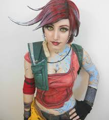character lilith the siren aka the firehawk from 2k games