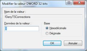 activer bureau a distance activer le bureau à distance via la base de registre tiennot