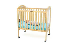 angeles compact adjustable natural crib w mirror u0026 clear panel