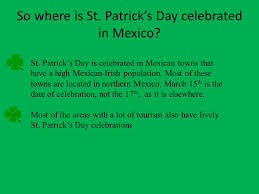 st s day in mexico ppt