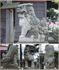 shishi statue japanese shishi the open along with the pierced